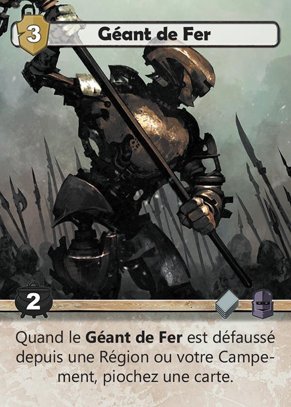 Twelve Heroes, le Géant de fer © Catch Up Games / Jedruszek / Sakaue  / Uesugi