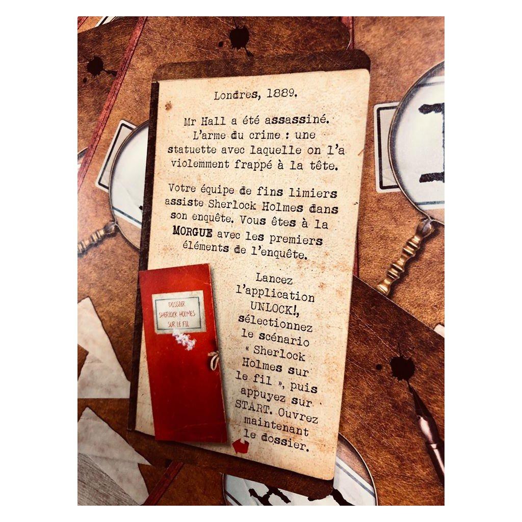 Unlock - Heroic Adventures -, Sherlock Holmes sur le fil © Space Cowboy