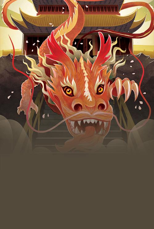 Unlock, saison 7, visuel des 7 épreuves du dragon © Space Cowboys