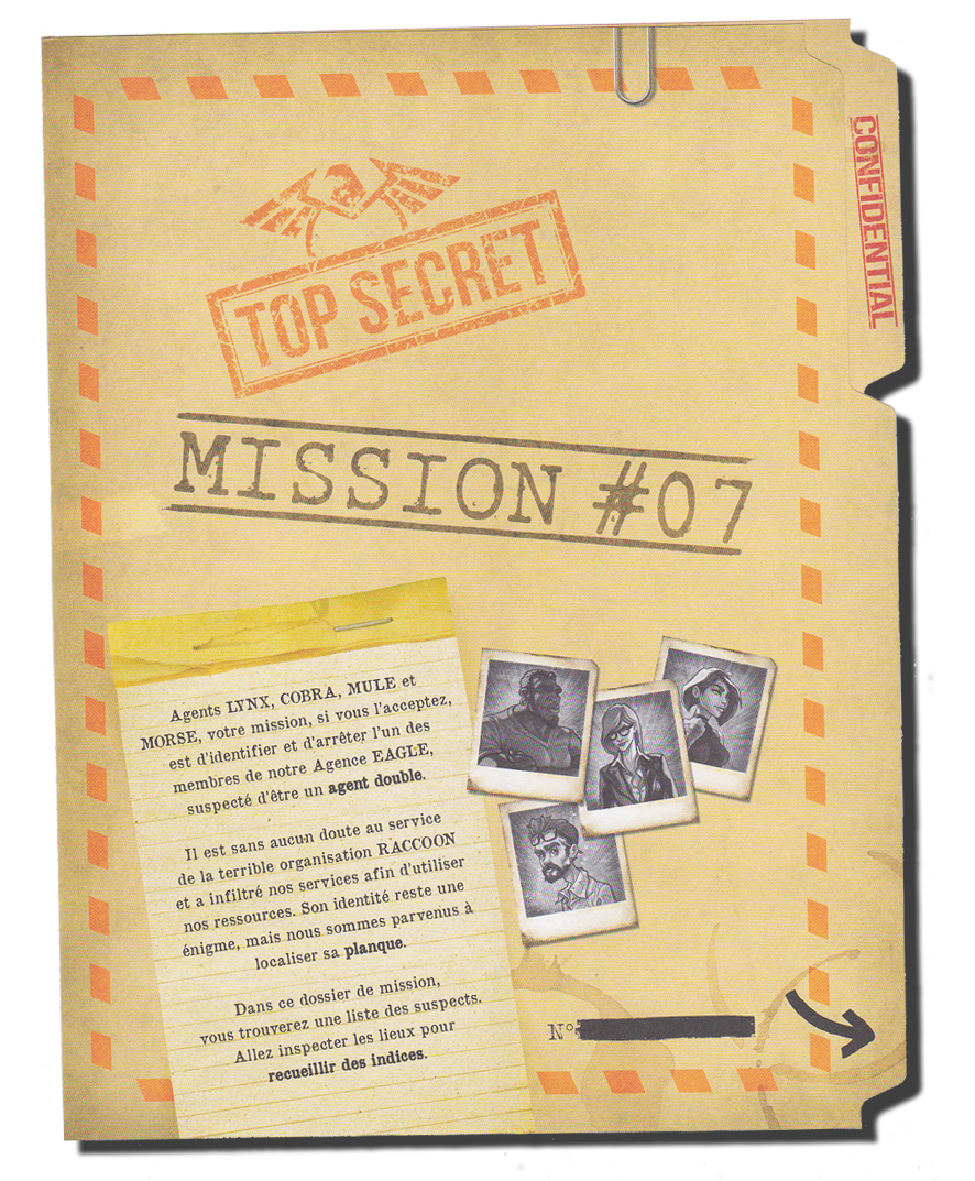 Unlock, saison 7, dossier secret © Space Cowboys
