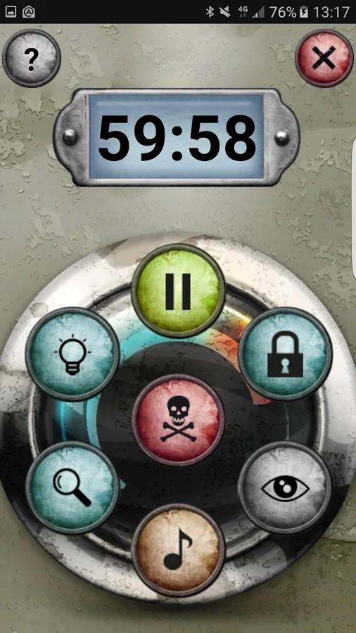 Unlock!, l'interface de l'appli © Space Cowboys