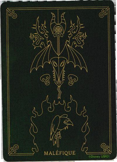 Villainous, Maléfique, le dos des cartes © Ravensburger