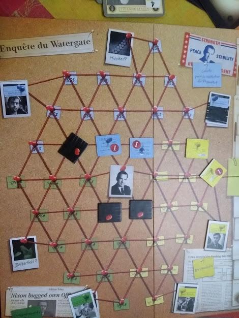 Watergate, enquête en cours © Iello