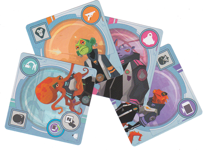 Wild Space, un équipage hétéroclyte © Catch Up Games / Guinet / Thôme