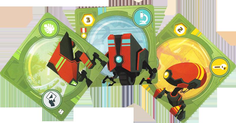 Wild Space, des Robots bien utiles © Catch Up Games / Guinet / Thôme