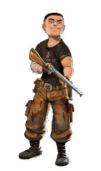 Zombie 15' : Left Alone, un héros... malgré lui © Iello