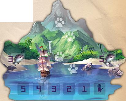 L'Île des Chats, La sublime et mythqiue Île aux Chats © Lucky Duck Games