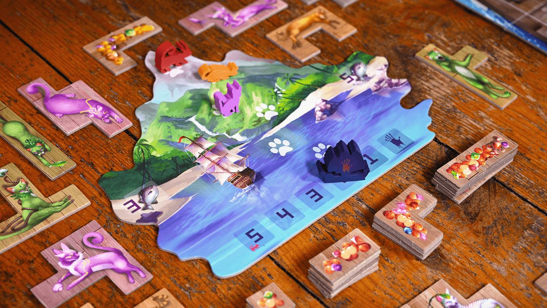 L'Île des Chats, visuels © Lucky Duck Games