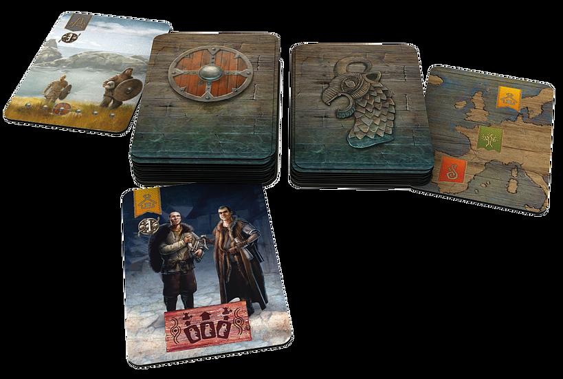 Lindisfarne, et des cartes magnifiques... © Rune Editions / Ann & Seb / Pradet / Fleury
