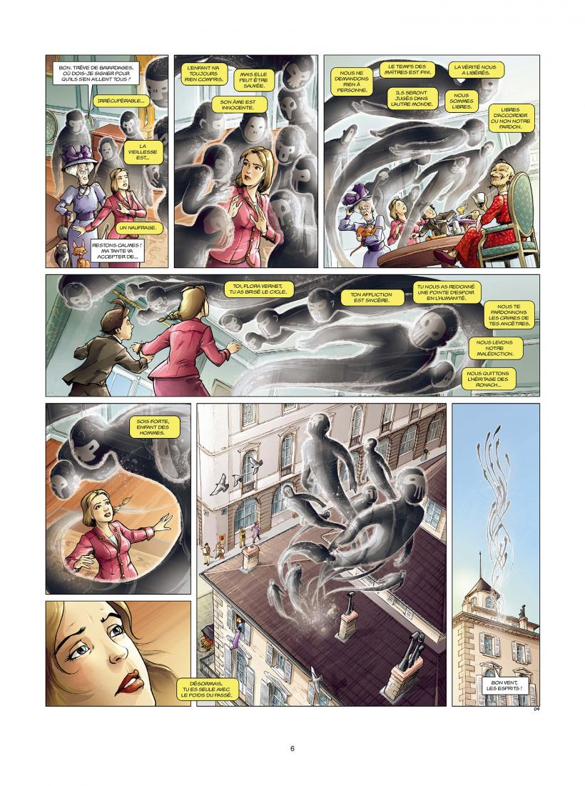 Aspic, détectives de l'étrange, planche du tome 8 © Soleil / Despujol / Gloris / Saint-Blancat