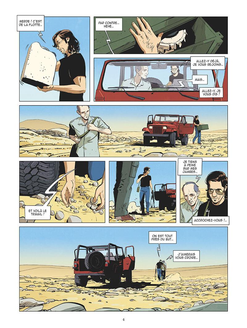 Affaires d'Etat, Jihad, planche du tome 1 © Glénat / Buscaglia / Richelle / Bocato