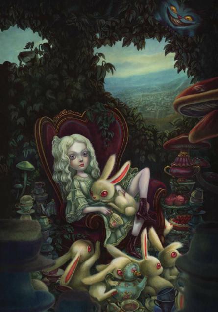 Alice au Pays des Merveille, illustration de l'album © Soleil / Lacombe