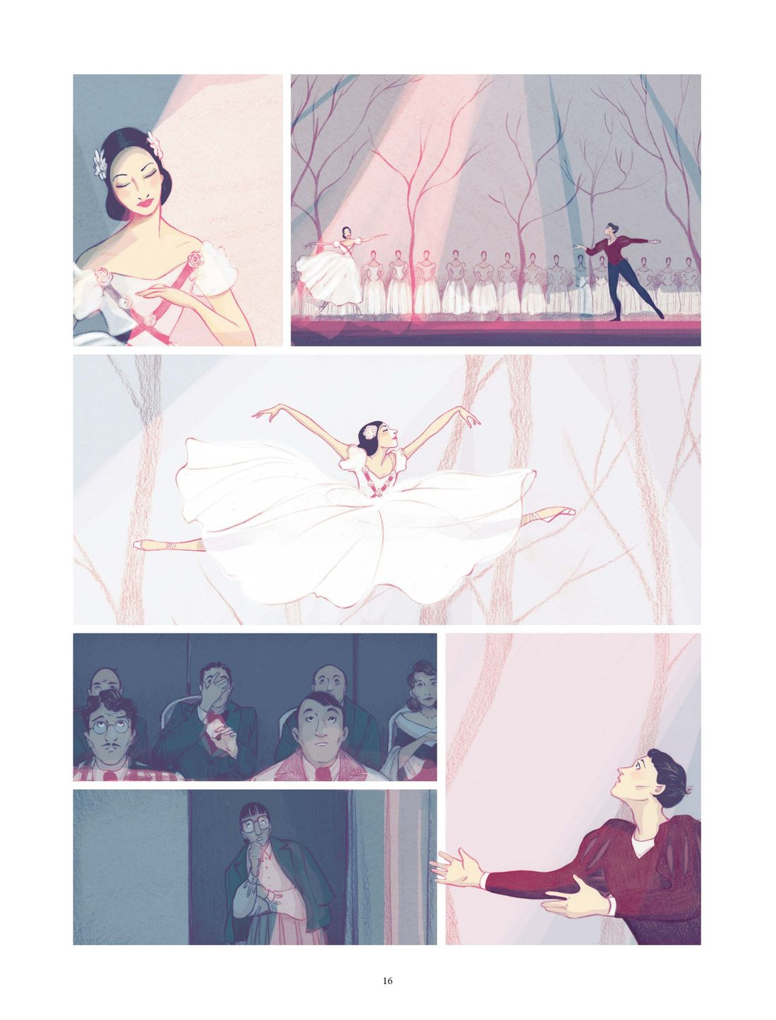 Alicia - Prima ballerina assoluta, planche de l'album © Rue de Sèvres / Goust / Hofer