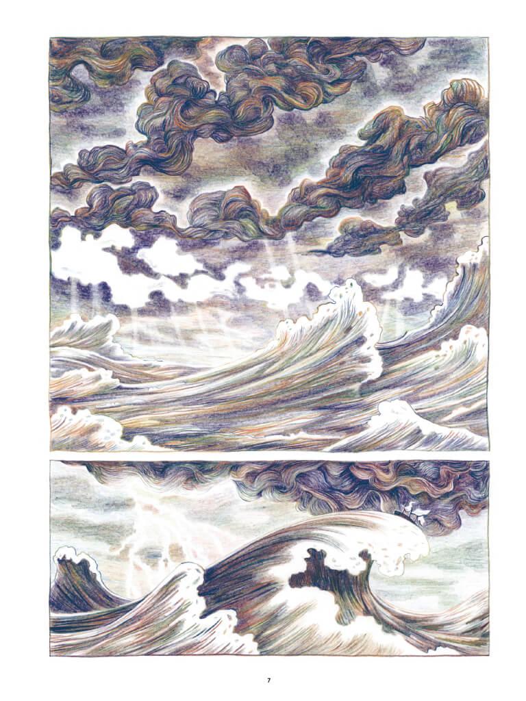 Anaïs Nin - Sur la mer des mensonges, planche du tome 1 © Casterman / Bischoff
