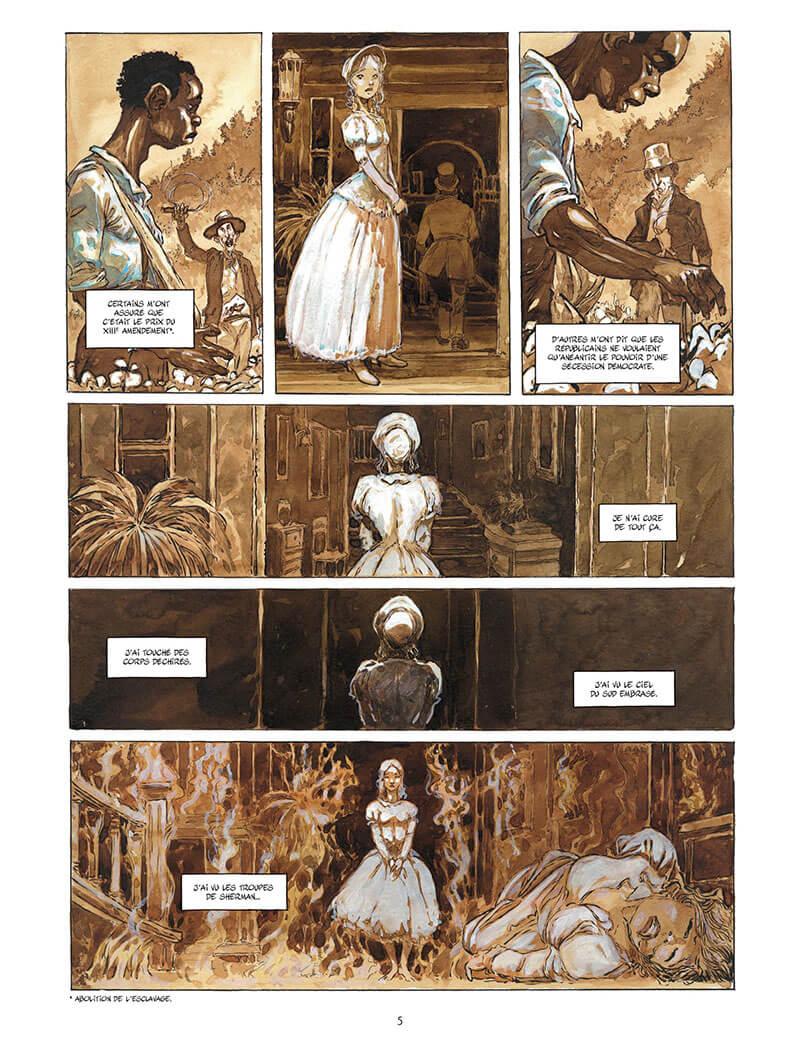 Après l'enfer, planche du tome 1 © Bamboo / Meddour / Marie
