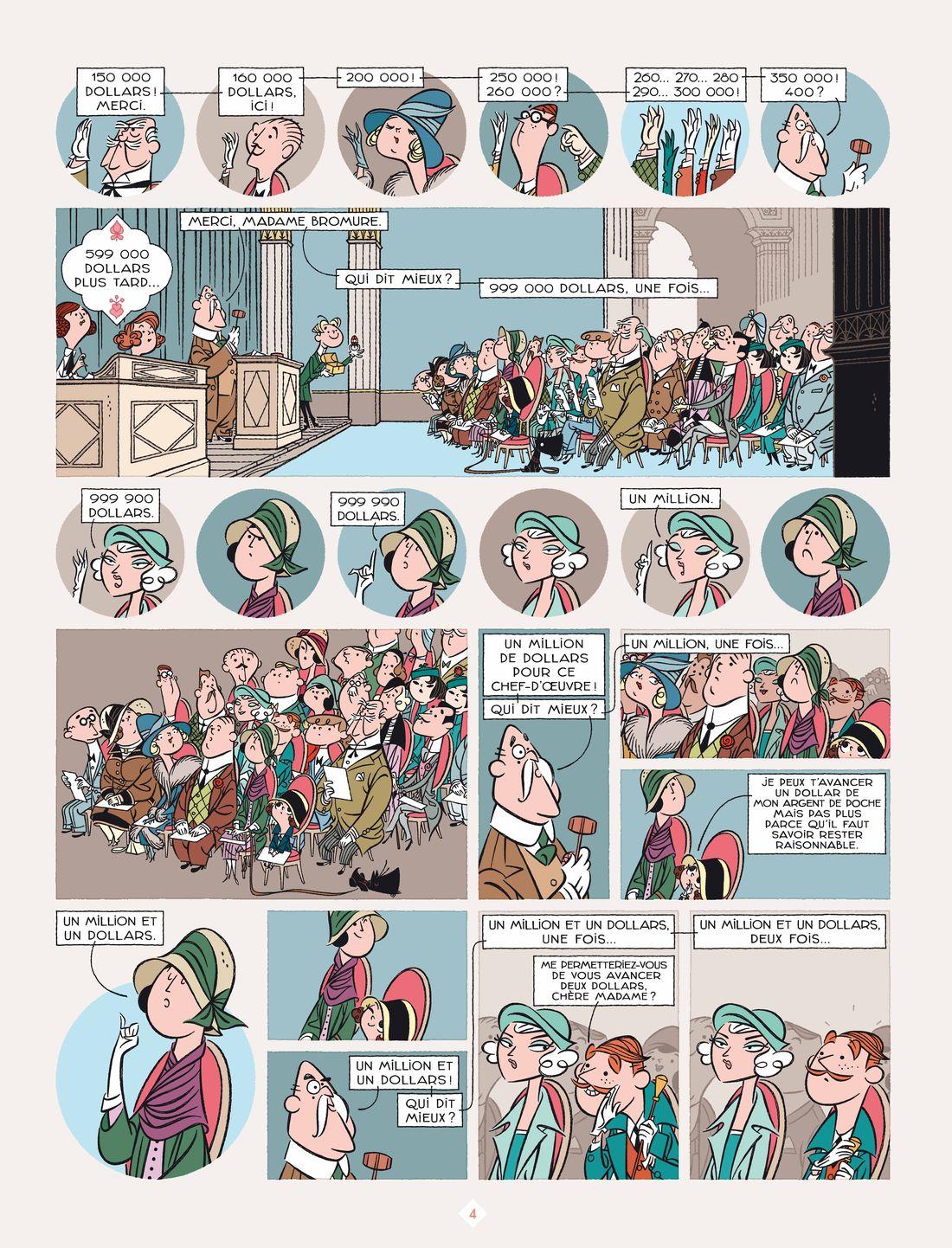 Astrid Bromure, planche du tome 6 © Rue de Sèvres / Parme