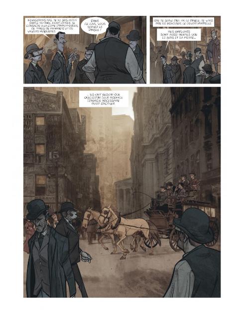 Bartleby le scribe, une histoire de Wall Street, planche de l'album © Dargaud / Munuera / Melville