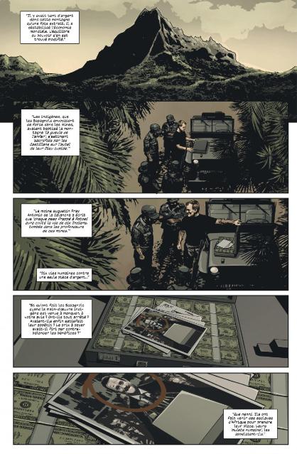 Black monday murders, planche du tome 2 © Urban Comics / Coker / Hickman / Garland