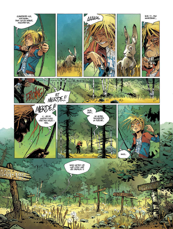Camp Poutine, planche du tome 2 © Bamboo / Anlor / Ducoudray