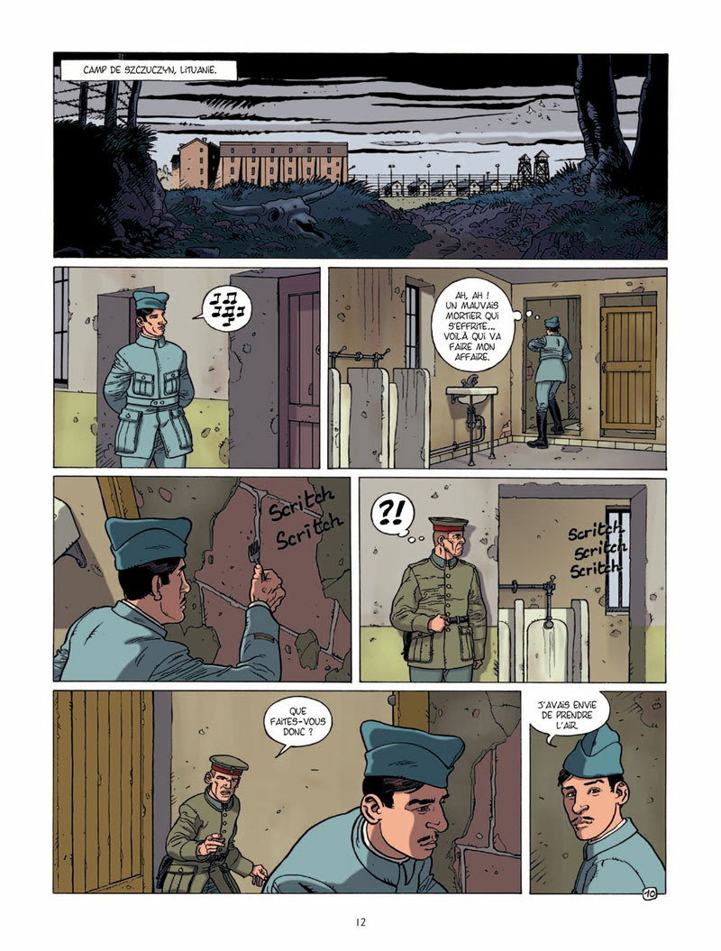 Charles de Gaulle, planche du tome 1 © Bamboo / Plumail / Le Naour
