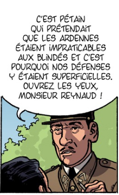 Charles de Gaulle, case du tome 2 © Bamboo / Plumail / Le Naour / Ralenti