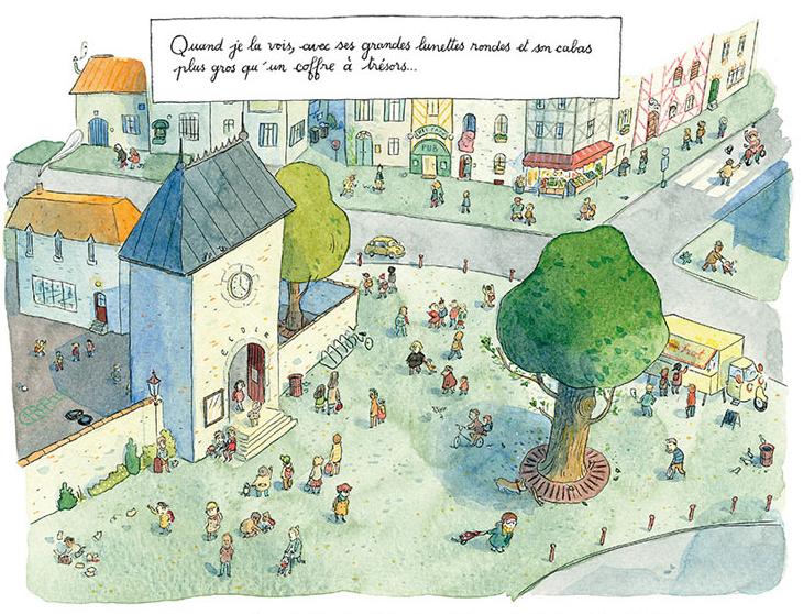 Chaussette, planche de l'album © Delcourt / Montel / Clément