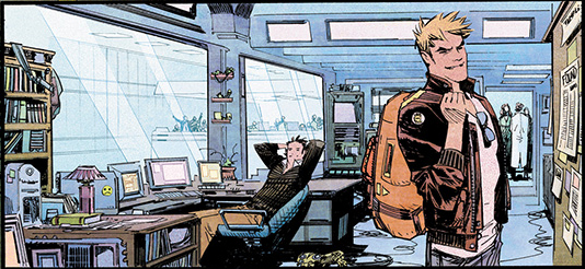 Chrononauts, case de l'album © Panini / Murphy / Millar / Hollingsworth