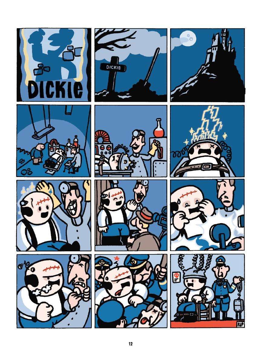 Dickie kid, planche du tome 1 © Glénat / De Poortere