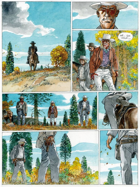 Duke, planche du tome 1 © Le Lombard / Hermann / Yves H.