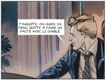 Escobar - El Patron, case de l'album © Dargaud / Palumbo / Piccoli