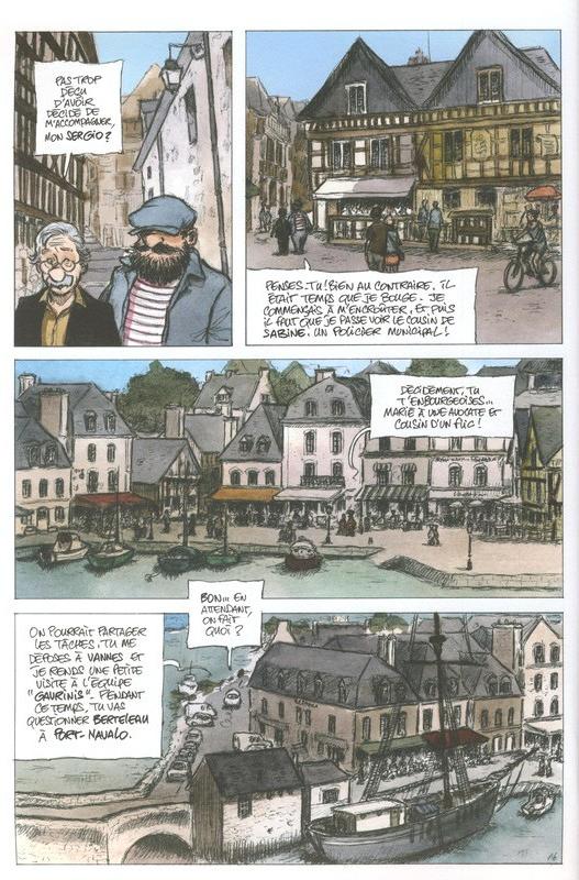 Fanch Karadec l'enquêteur breton, planche du tome 4 © Vagabondages / Corbet / Heurteau