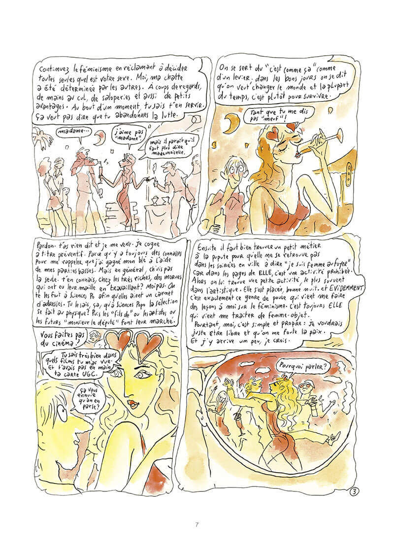 Fashion week, planche de l'album © Dargaud