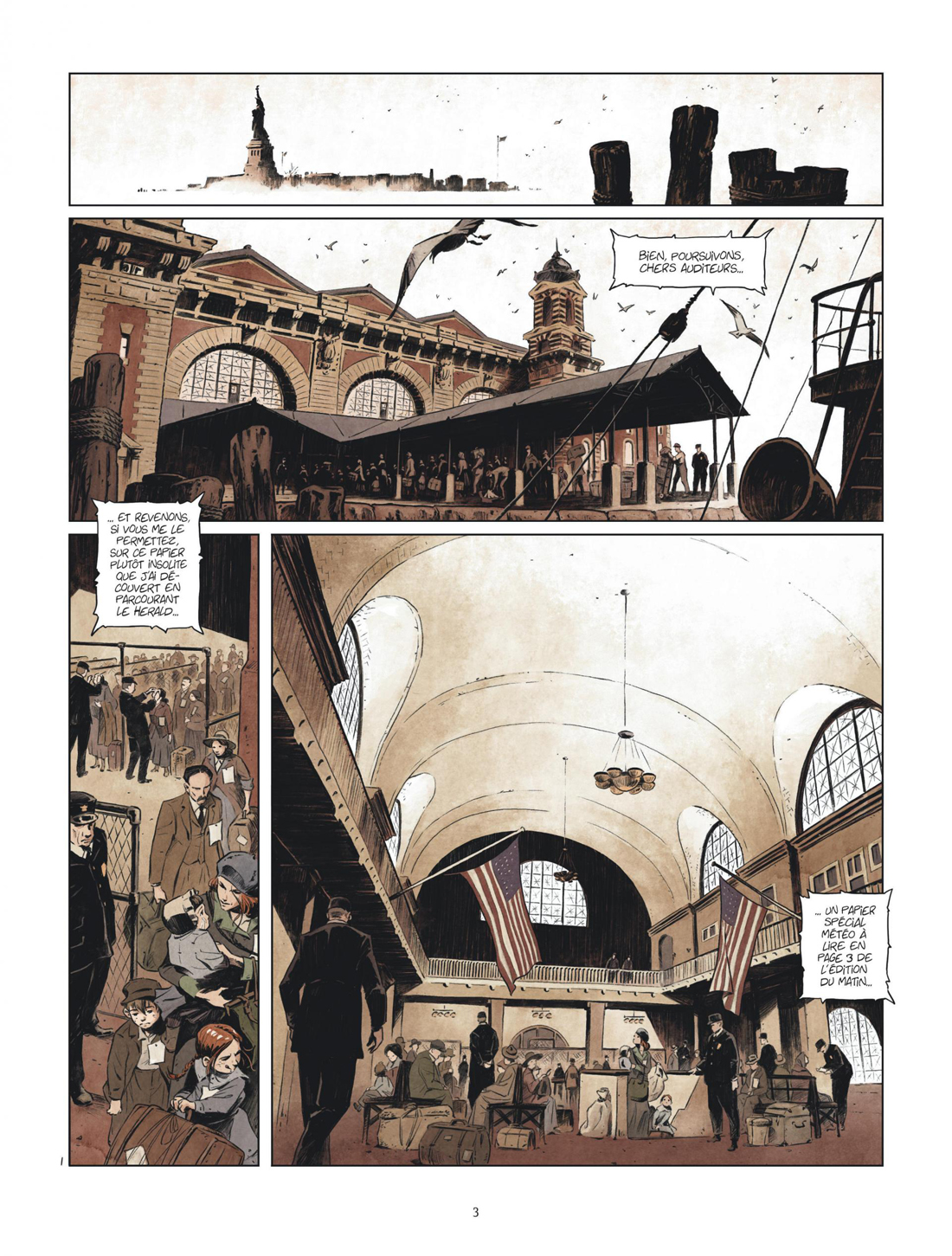 Giant, planche du tome 2 © Dargaud / Mikaël