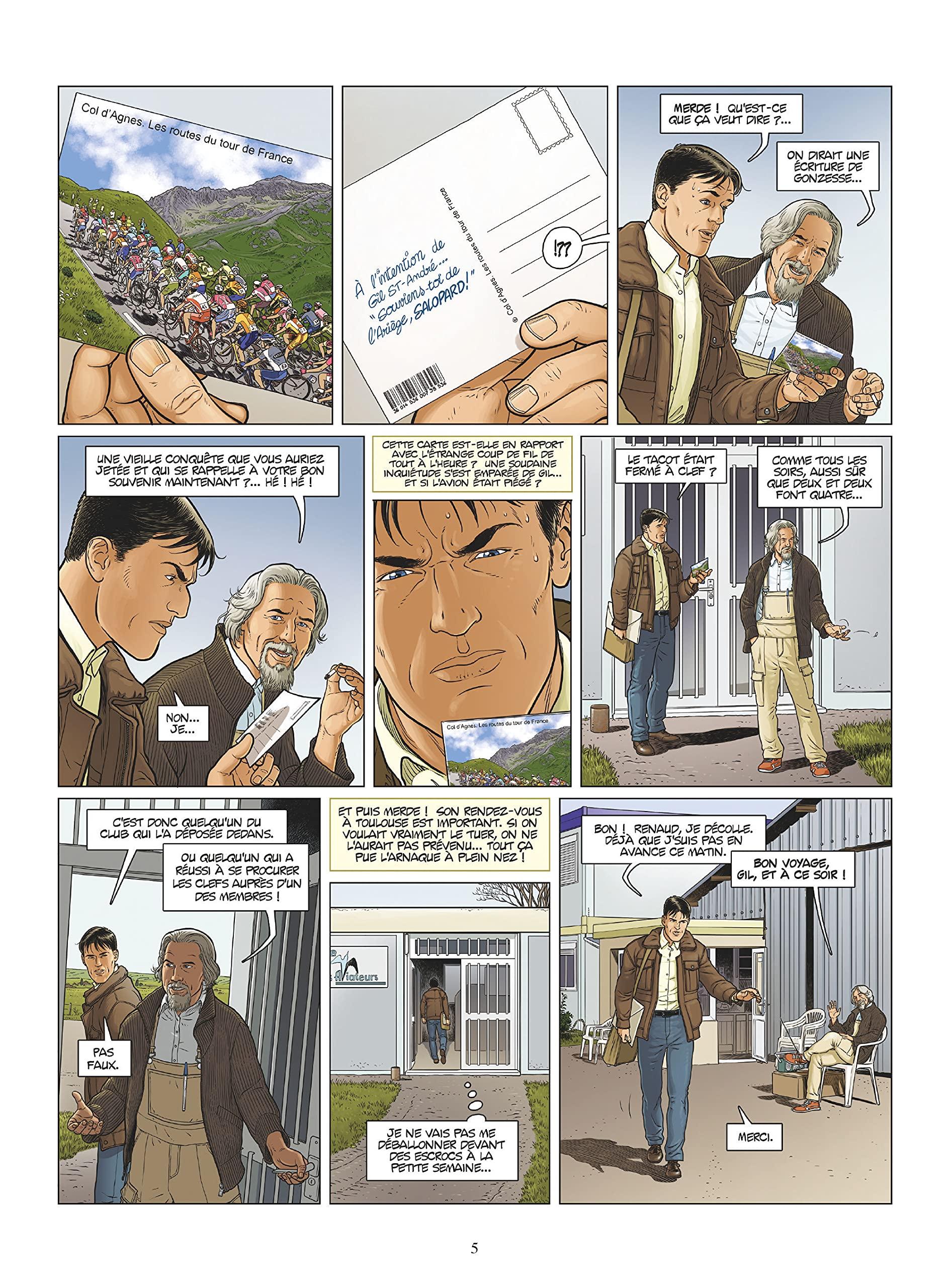 Gil St André, planche du tome 14 © Glénat / Millien / Kraehn