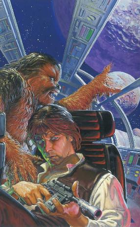 Star Wars - Icones, Han Solo, planche du tome 1 © Delcourt