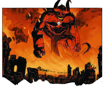 Hellboy & BPRD, planche de l'album © Delcourt / Maleev / Mignola / Arcudi / Stewart