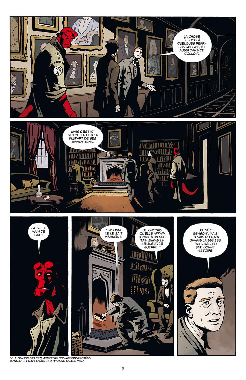 Hellboy & BPRD, planche du tome 2 © Delcourt / Walsh / Rivera / Stenbeck / Mignola / Roberson / Stewart