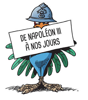 histoire de l'Histoire de France, planche du tome 3 © Bamboo / Laudrain