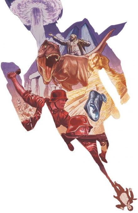 Ivar, timewalker, illustration de l'album © Bliss Comics