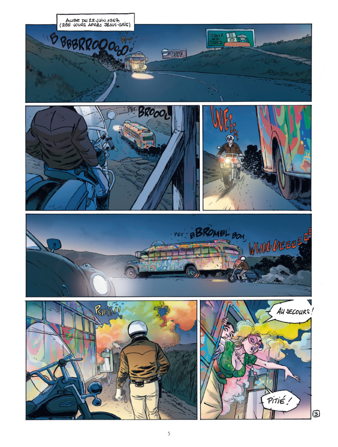 Jack Cool, planche du tome 2 © Bamboo / Mangin / Manini / Guille