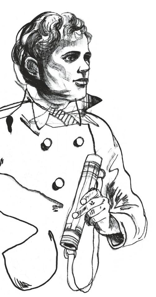 Jack London - Arriver à bon port ou sombrer en essayant, planche de l'album © Le Lombard / Koza / Mihindou