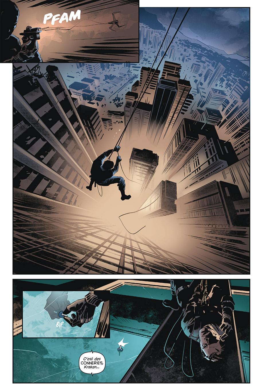 James Bond, tome 3 © Delcourt / Casalanguida / Diggle / Blythe