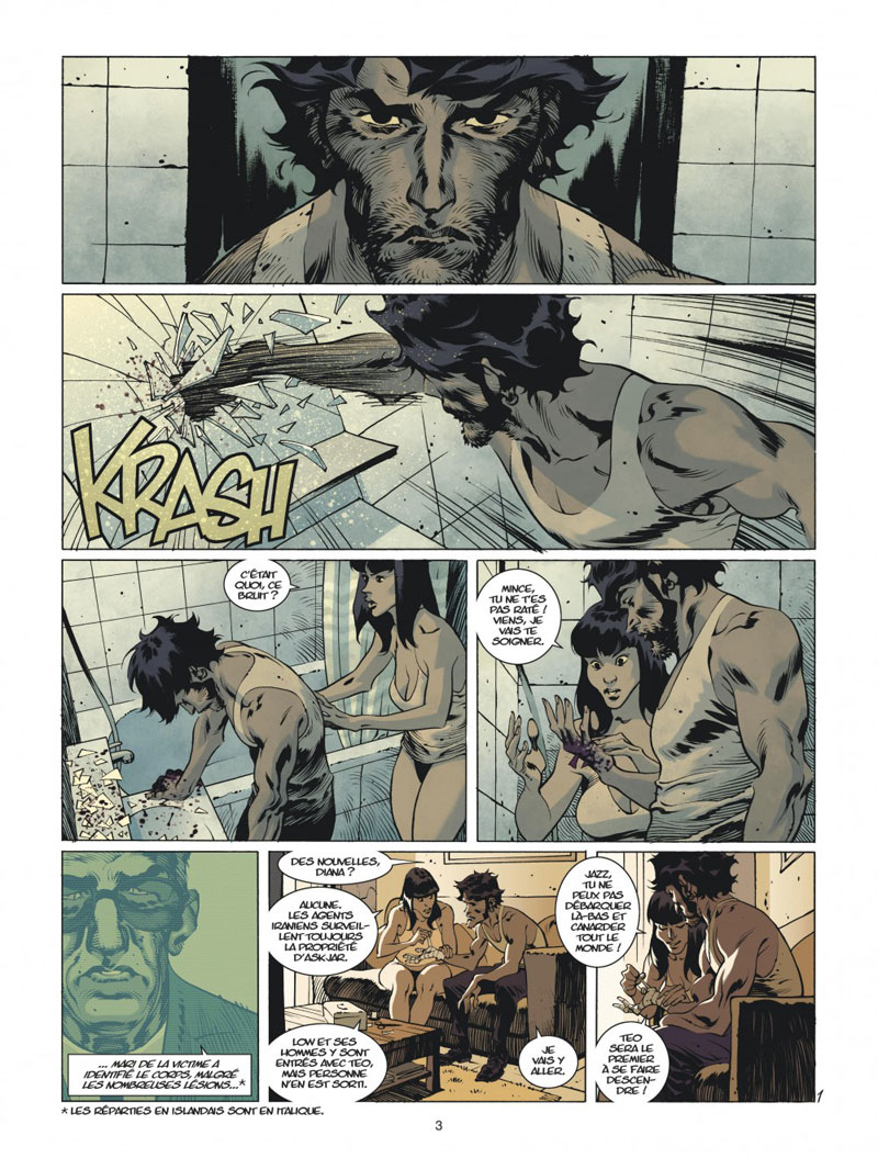 Jazz Maynard, planche du tome 6 © Dargaud / Roger / Raule