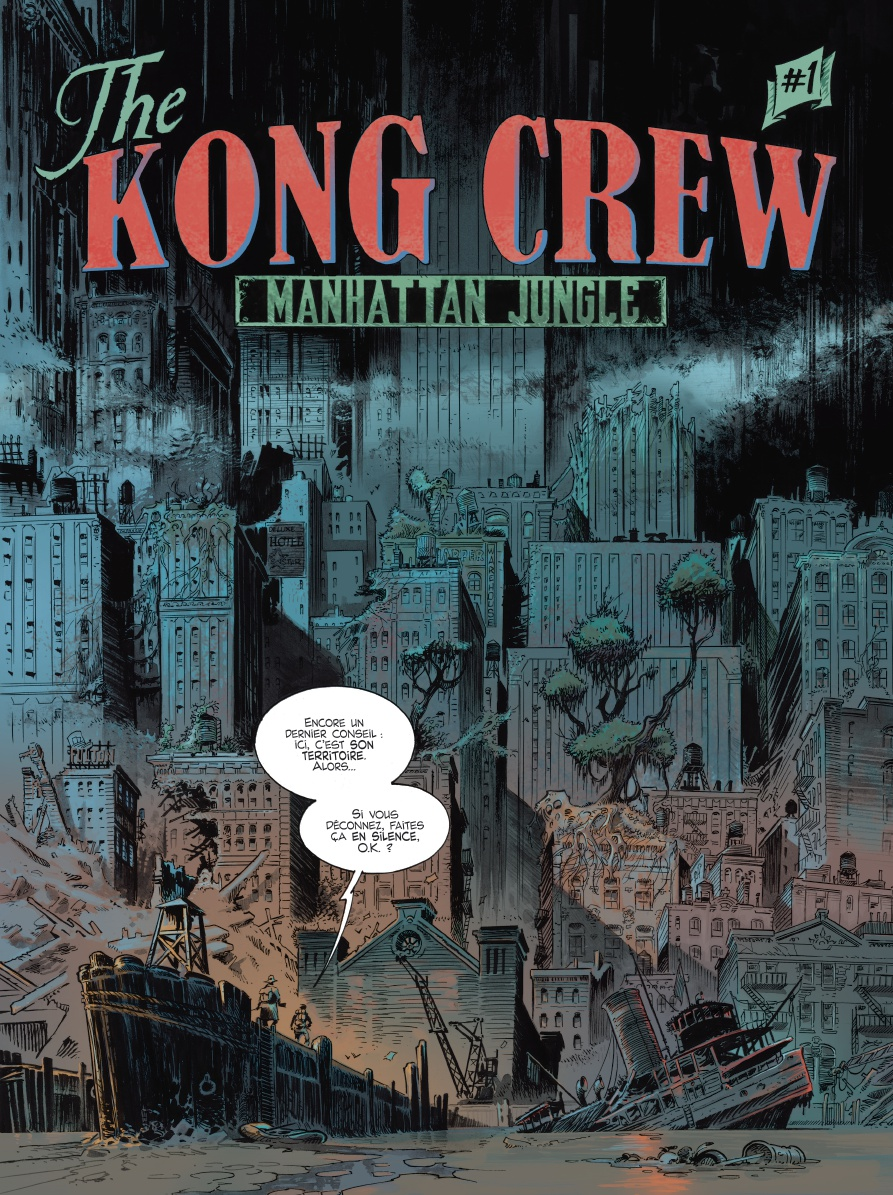 the Kong Crew, planche du tome 1 © Ankama / Herenguel