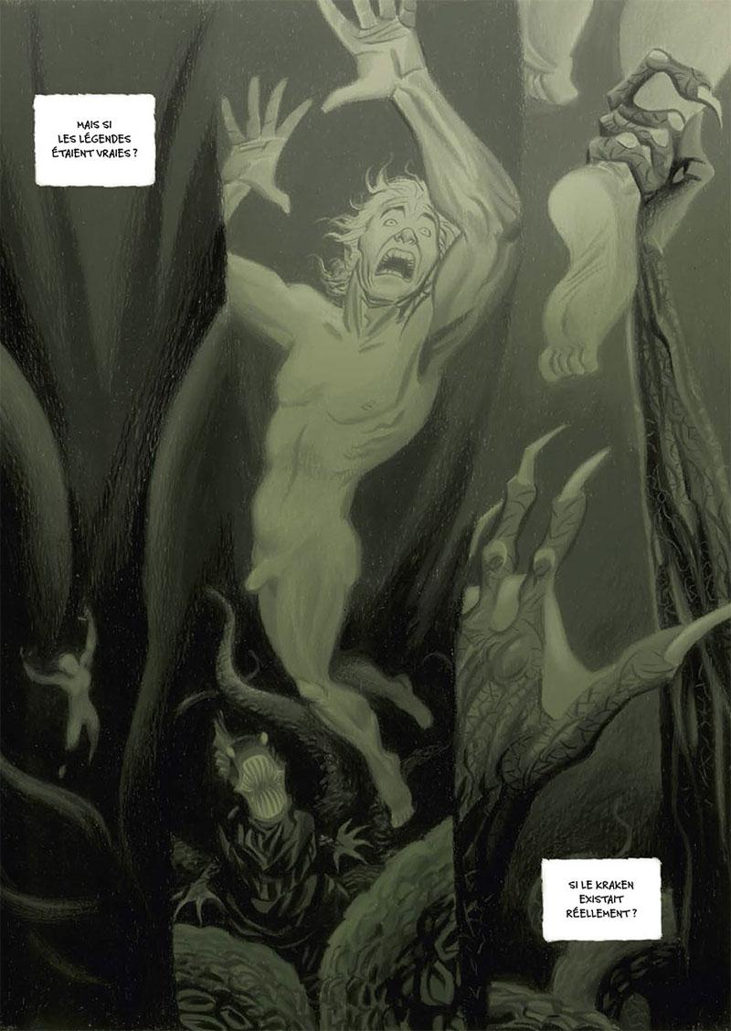 Kraken, planche de l'album © Soleil / Cannucciari / Pagani