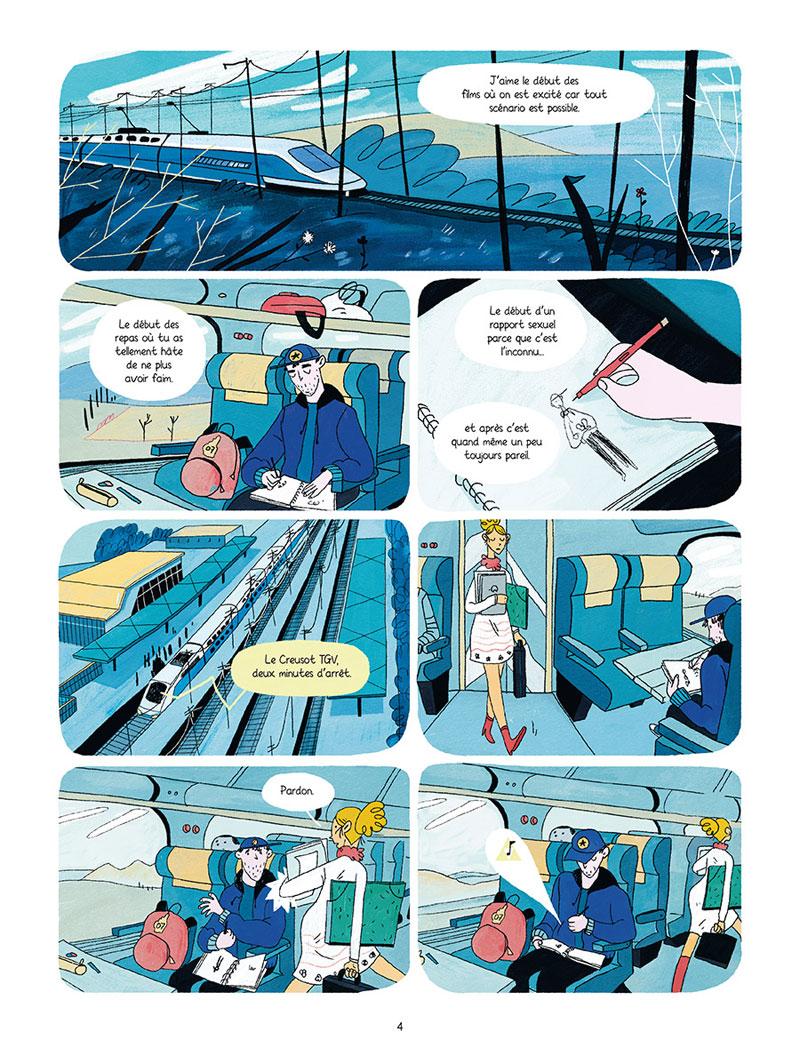 L'âge de Pierre, planche de l'album © Delcourt / Solt / Mourier