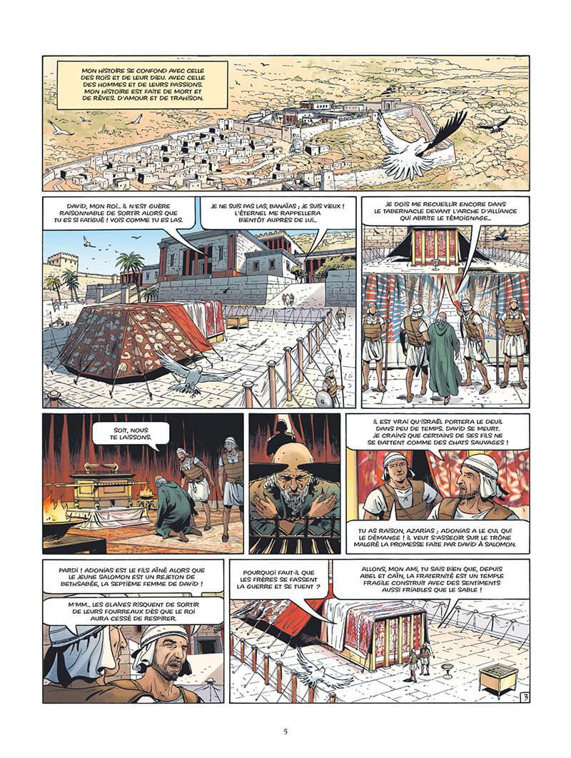 L'Epopée de la Franc-Maconnerie, planche du tome 1 © Glénat / Falque / Convard / Césano