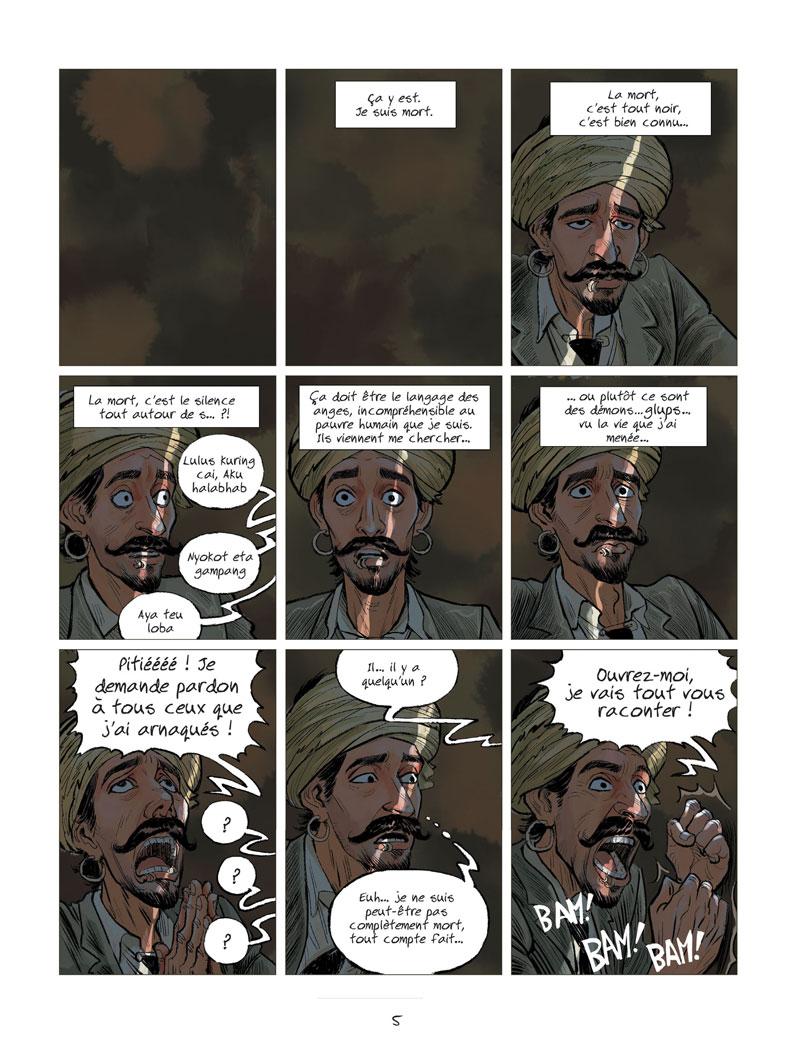 L'extraordinaire voyage du fakir qui était resté coincé dans une armoire Ikea © Jungle / Park / Falzar