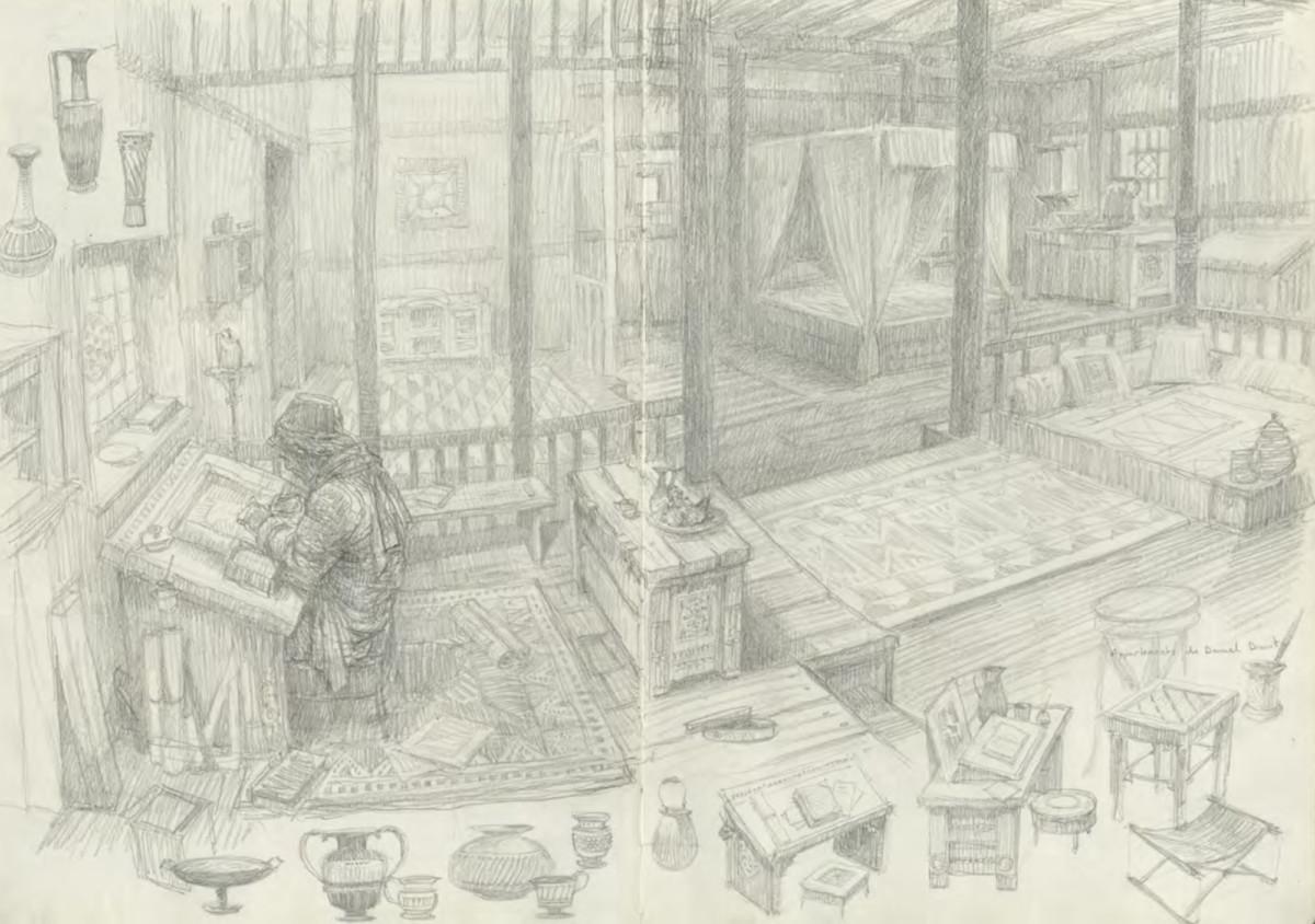 L'Homme qui voulut être Roi: Les carnets retrouvés, planche de l'album © Caurette Edition / Gaulme / Kipling