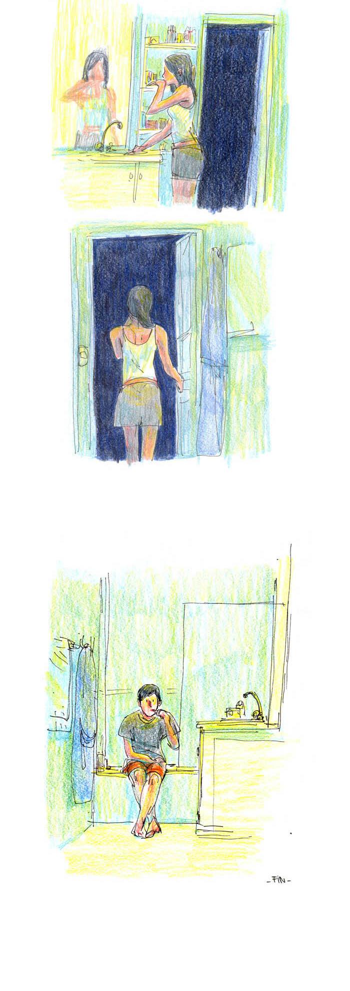 La Boucherie, planche(s) de l'album © Vraoum! / Vives